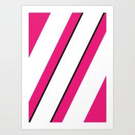 Geometric Calendar - Day 38 Art Print