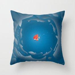GAGarlic 4 Throw Pillow