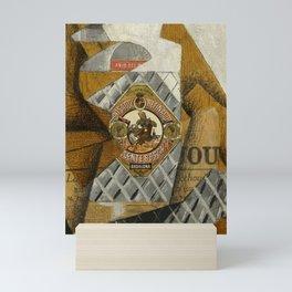 """Juan Gris """"La bouteille d'anis"""" Mini Art Print"""