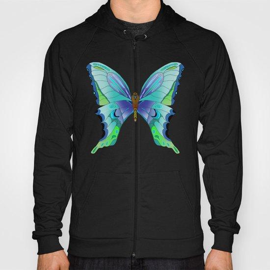 Butterfly Blues Hoody