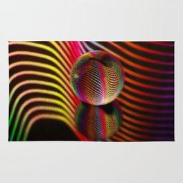 Ocean ripple glass ball Rug
