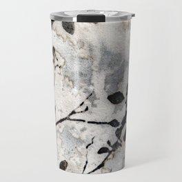 Desaturated Jungle Botanical Art Travel Mug