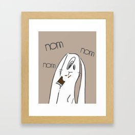 Nom, nom, nom #2 Framed Art Print