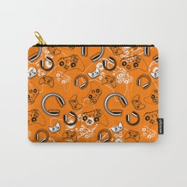 Gamers-Orange Carry-All Pouch