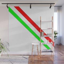 flag of Italia scarf- Italy,Italia,Italian,Latine,Roma,venezia,venice,mediterreanean,Genoa,firenze Wall Mural