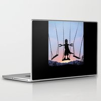 magneto Laptop & iPad Skins featuring Magneto Kid by Andy Fairhurst Art