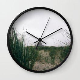Cannon Beach III Wall Clock