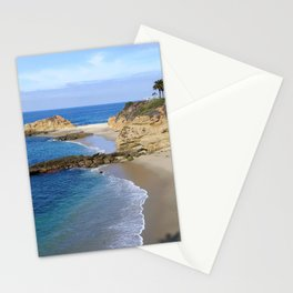 SECLUDED BEACH Stationery Cards