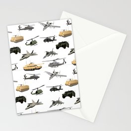 American Military Pattern Stationery Cards