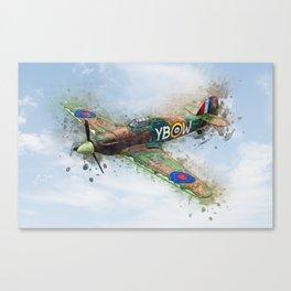 Hawker Hurricane Mk II Canvas Print