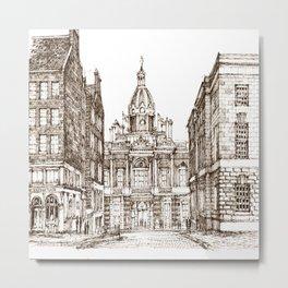 Sketch endib Metal Print