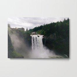 Twin Peaks - Snoqualmie Falls Metal Print