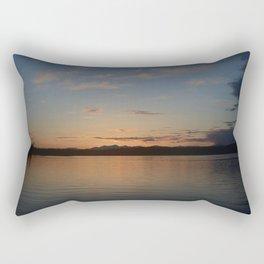 Fox Island Sunset Rectangular Pillow