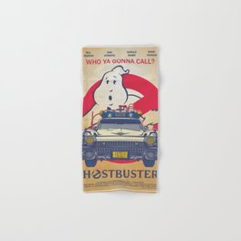 Who ya gonna call? Ghostbusters Movie Poster Hand & Bath Towel