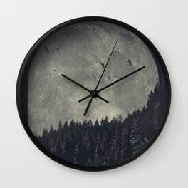 eerie landscapes 1 Wall Clock