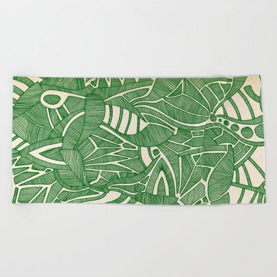 - green hope - Beach Towel