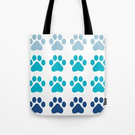 Huellas de gato Tote Bag