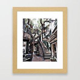 Laguna Beach's Peppertree Lane Framed Art Print