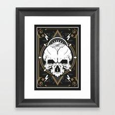 Skull design Framed Art Print