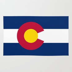 Colorado State Flag Rug