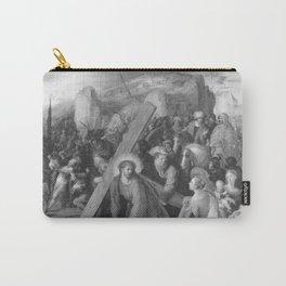 Frans Francken the Younger - Die hl Veronika reicht Christus das Schweißtuch Carry-All Pouch