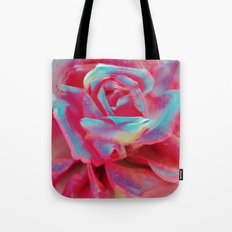 NEON ROSE Tote Bag