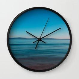 Seascape of Island Mallorca Wall Clock