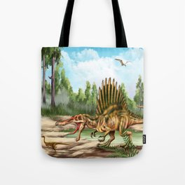 Dinosaur Species Tote Bag