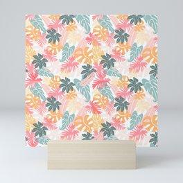 Tropical Leaf Medley Mini Art Print