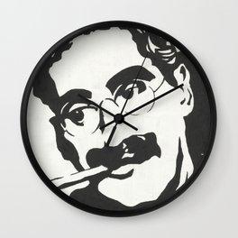Mr. Marx Acrylic Pop Art Wall Clock