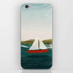 The Boat that Wants to Float iPhone Skin