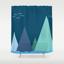 Pahar Shower Curtain