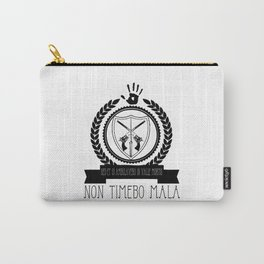 Non Timebo Mala Carry-All Pouch