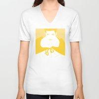 vampire V-neck T-shirts featuring Vampire by Jessica Slater Design & Illustration
