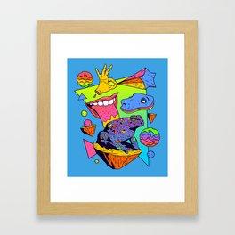 Licker Framed Art Print