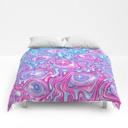 Eyeball Pattern - Version 2 Comforters