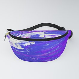 radioactive purple Fanny Pack
