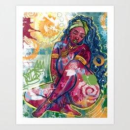 Isoke Art Print