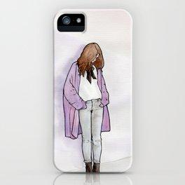 Cozy Cardigan iPhone Case