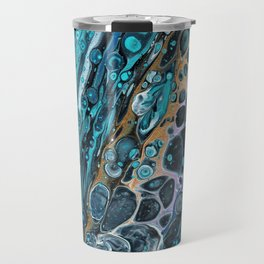 Spaced Out Acrylic Abstract Travel Mug