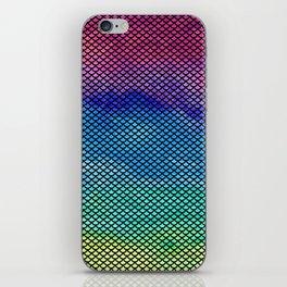 Rainbow Mermaid Tail iPhone Skin