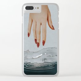 A Dip in the Depths Clear iPhone Case
