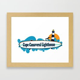 Cape Canaveral. Framed Art Print