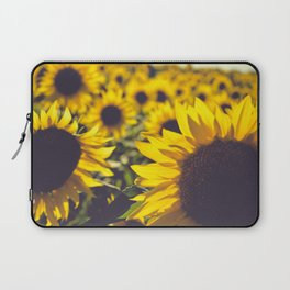 Summer Sunflower Love Laptop Sleeve