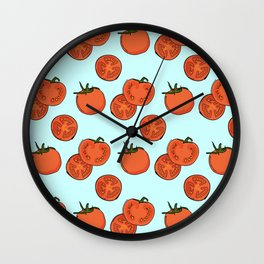 Tomato patter Wall Clock