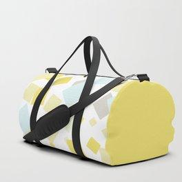 Pastel . Delicate yellow blue Duffle Bag