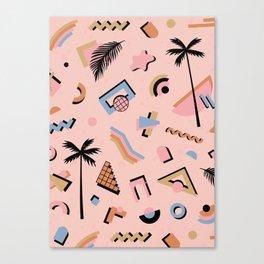 Venice CA vibes Canvas Print