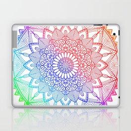 Rainbow Mandala Doodle Laptop & iPad Skin