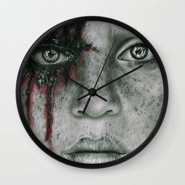Still Standing Wall Clock