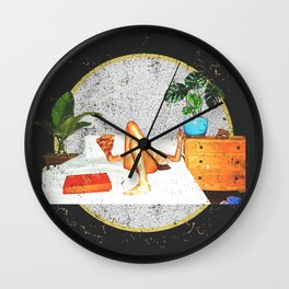 Out of Office Wall Clock